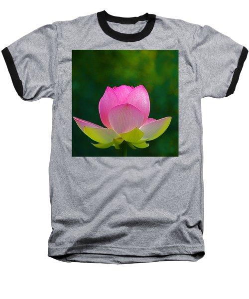 Baseball T-Shirt featuring the photograph Lotus Blossom 842010 by Byron Varvarigos