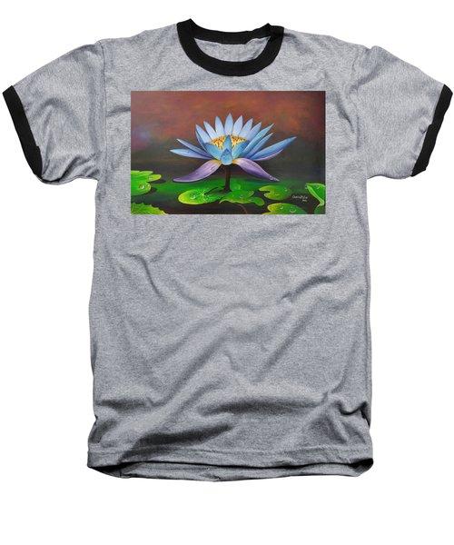 Lotus Blossom Baseball T-Shirt