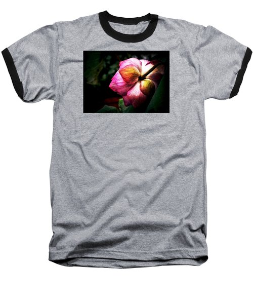 Baseball T-Shirt featuring the digital art Lotus by Cameron Wood