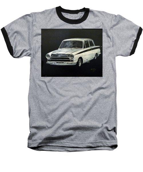 Lotus Cortina Baseball T-Shirt