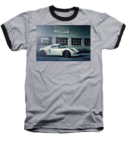 Lotus Elise Baseball T-Shirt by Joel Witmeyer