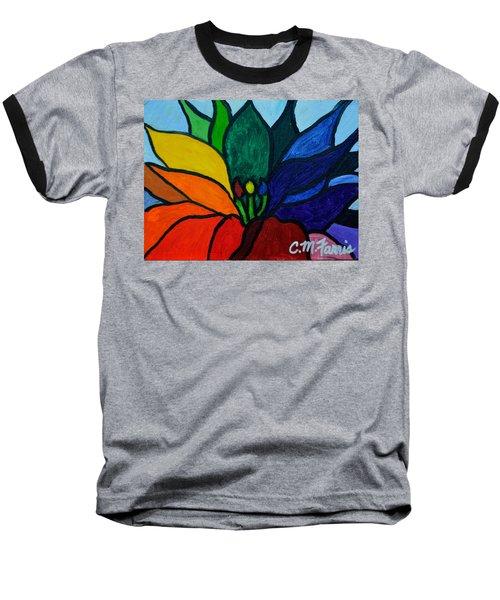 Lotus Flower 1 Baseball T-Shirt