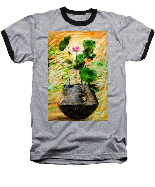 Lotus Tree In Big Jar Baseball T-Shirt