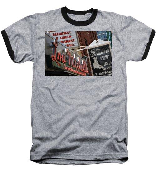 Lou Mitchells Restaurant And Bakery Chicago Baseball T-Shirt