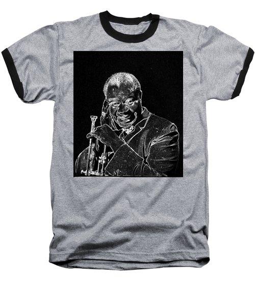 Louis Armstrong Baseball T-Shirt