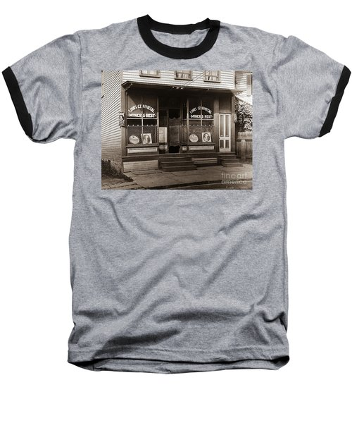 Louis Czarniecki Miners Rest 209 George Ave Parsons Pennsylvania Baseball T-Shirt