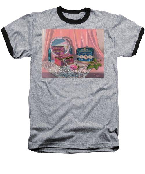 Louis Sherry Box Baseball T-Shirt