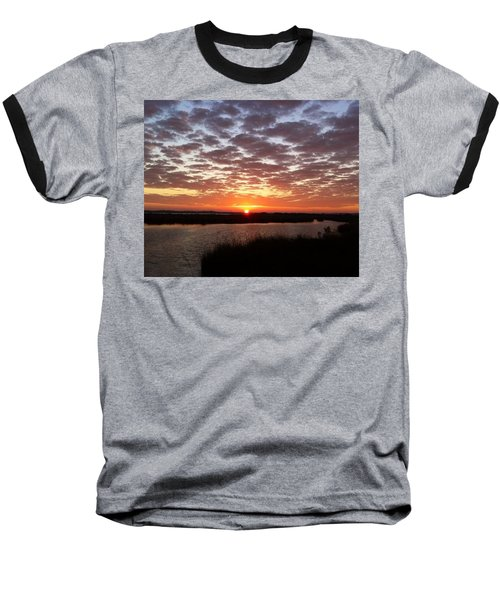 Baseball T-Shirt featuring the photograph Louisiana Morning by John Glass