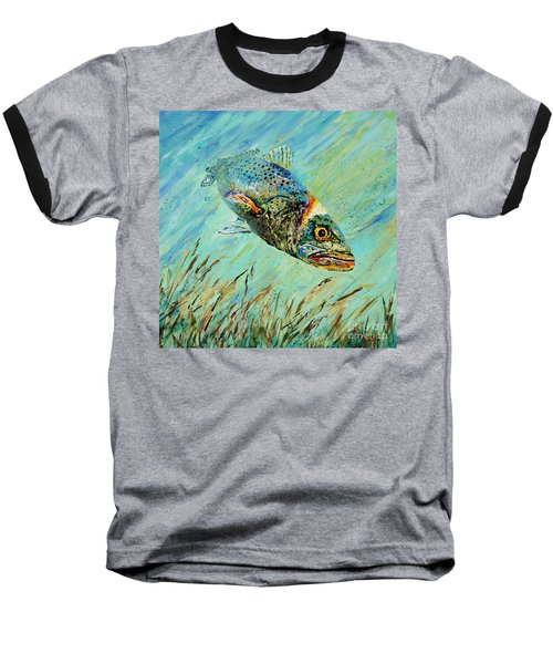 Louisiana Speckled Baseball T-Shirt by Dianne Parks