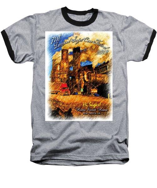 Louisiana Sugar Cane Poster 2012 Baseball T-Shirt