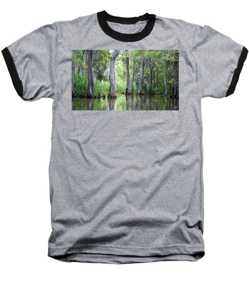 Louisiana Swamp 5 Baseball T-Shirt