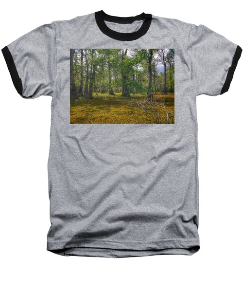Louisiana Swamp Baseball T-Shirt