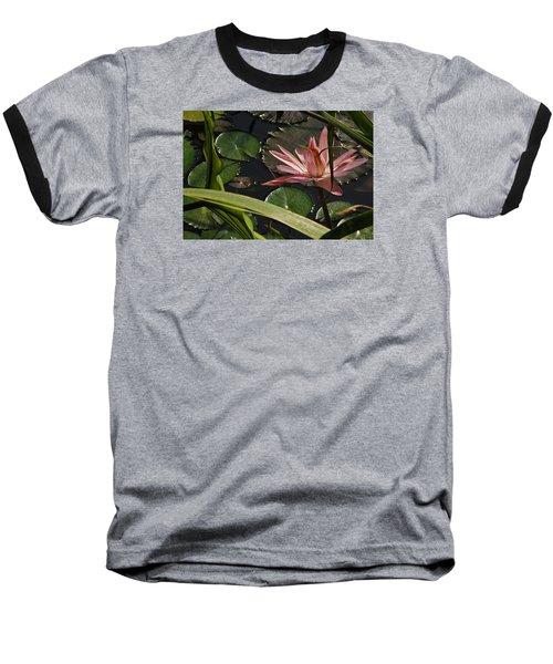 Louisiana Waterlilly Baseball T-Shirt