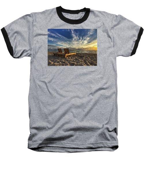 Lounging For 2 Baseball T-Shirt