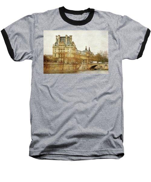 Louvre Museum Baseball T-Shirt