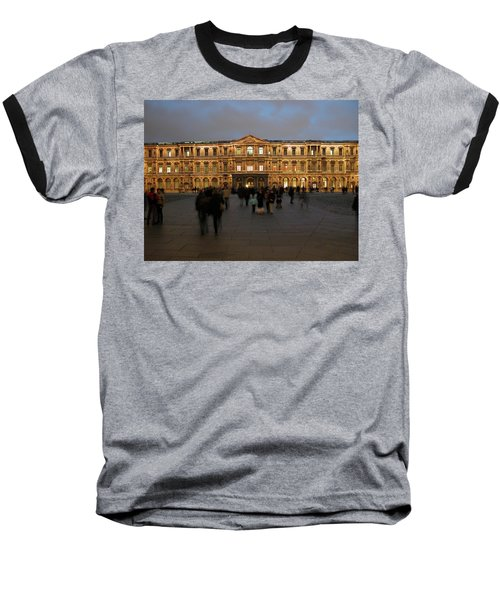 Baseball T-Shirt featuring the photograph Louvre Palace, Cour Carree by Mark Czerniec
