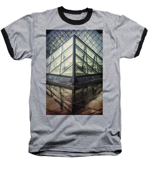 Louvre Pyramids Paris II Baseball T-Shirt