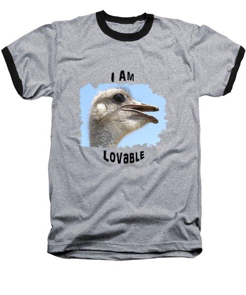 Lovable Baseball T-Shirt by Judi Saunders