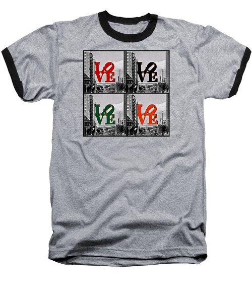 Baseball T-Shirt featuring the photograph Love 4 All by DJ Florek