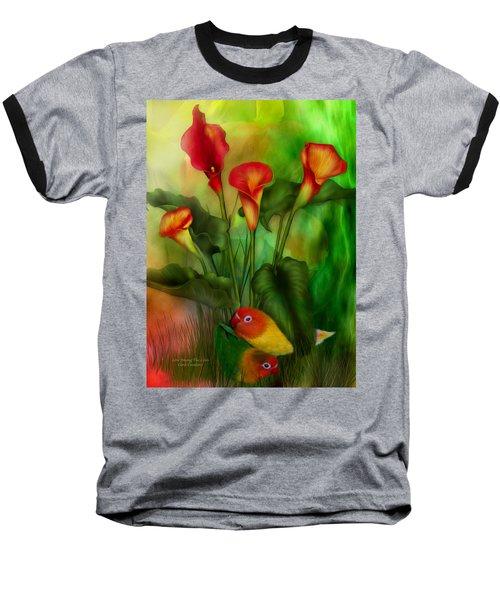 Love Among The Lilies  Baseball T-Shirt