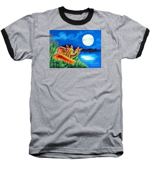 Love And Affection Baseball T-Shirt by Ragunath Venkatraman