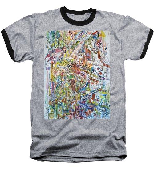 Love And Music Baseball T-Shirt