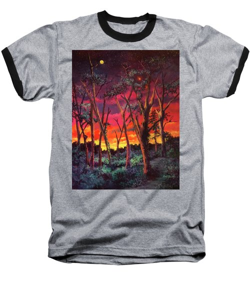 Love And The Evening Star Baseball T-Shirt