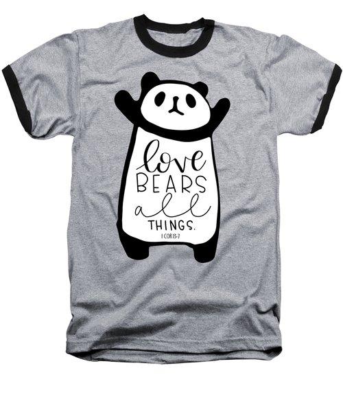Love Bears All Things Baseball T-Shirt