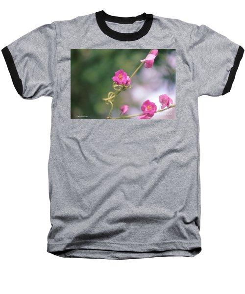 Baseball T-Shirt featuring the photograph Love Chain by Megan Dirsa-DuBois