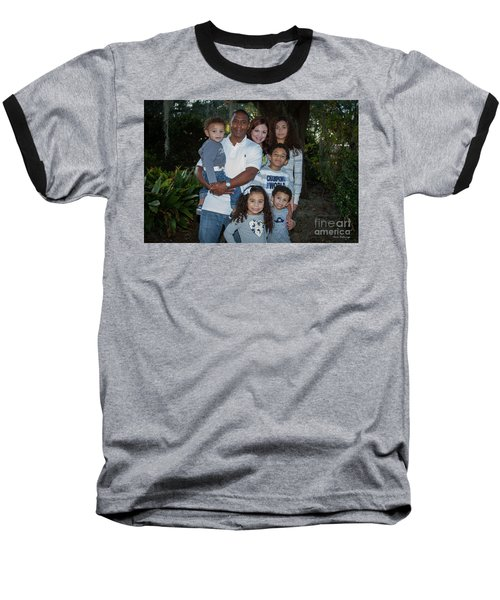 Baseball T-Shirt featuring the photograph Love Demonstrated 2 James Ingram Family Art by Reid Callaway