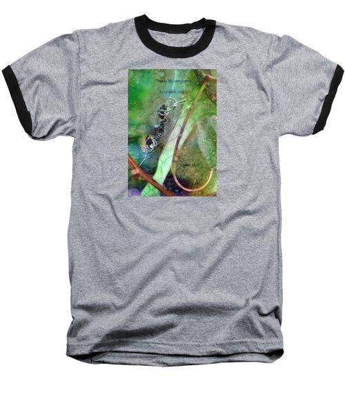 Love Each Other Baseball T-Shirt