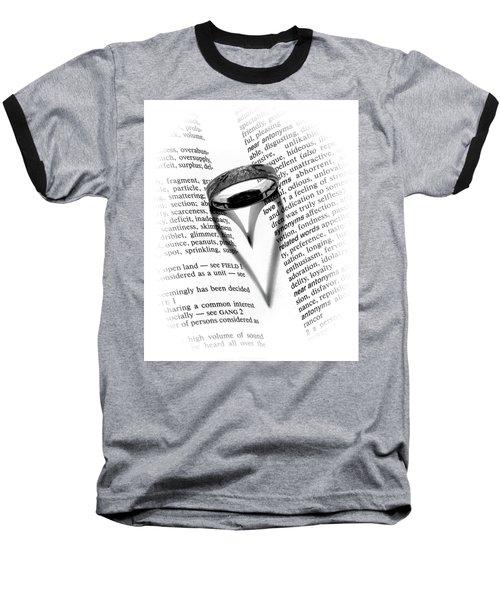 Love Handles Baseball T-Shirt by Jeffrey Jensen