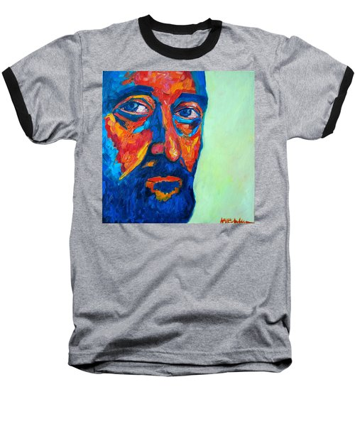 Baseball T-Shirt featuring the painting Love Him So Much by Ana Maria Edulescu