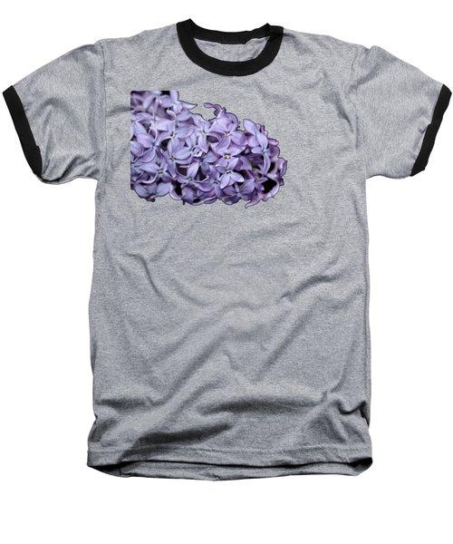 Love In Lilac Baseball T-Shirt by Debbie Oppermann