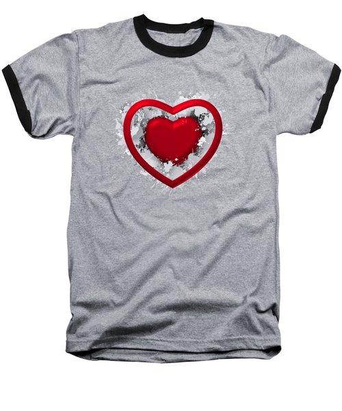 Love In Love Baseball T-Shirt