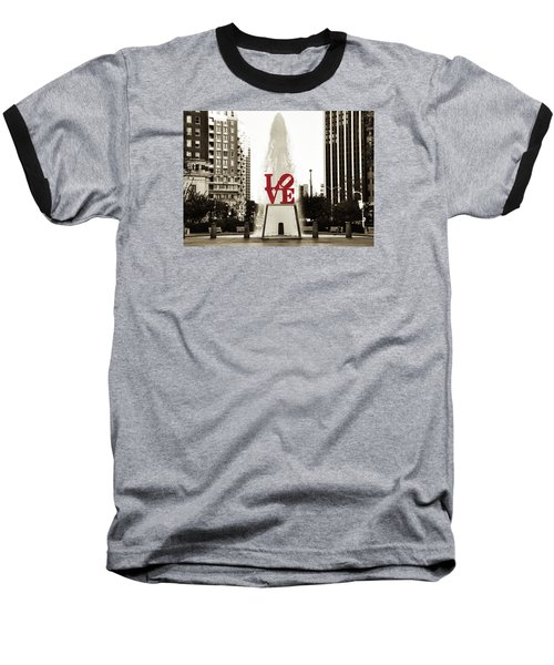 Love In Philadelphia Baseball T-Shirt
