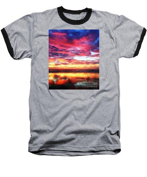 Love Is Real Baseball T-Shirt by LeeAnn Kendall