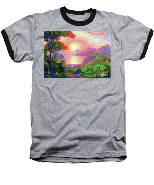 Love Is Sharing The Journey Baseball T-Shirt