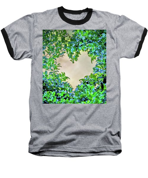 Love Leaves Baseball T-Shirt