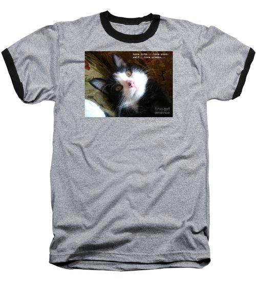 Love Life Baseball T-Shirt