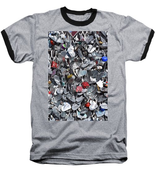 Love Locks On Fremont Street Baseball T-Shirt