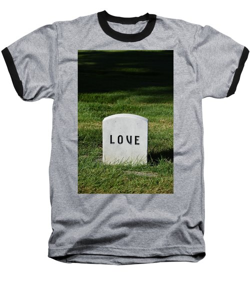 Love Monument Baseball T-Shirt