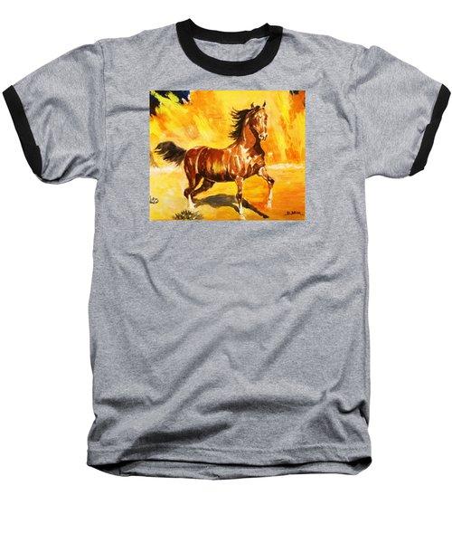 Lone Mustang Baseball T-Shirt