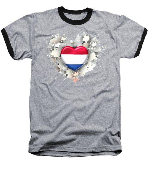 Love Netherland.1 Baseball T-Shirt