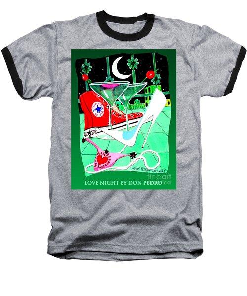 Love Night Baseball T-Shirt