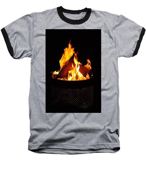 Love Of Fire Baseball T-Shirt