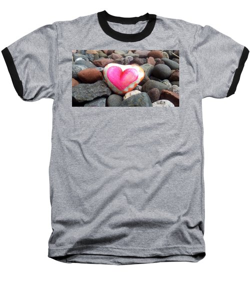 Love On The Rocks Baseball T-Shirt
