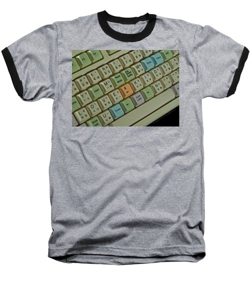 Love Puzzle Keyboard Baseball T-Shirt