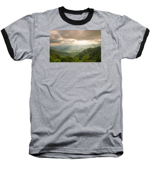 Love Shines Down Baseball T-Shirt by Doug McPherson