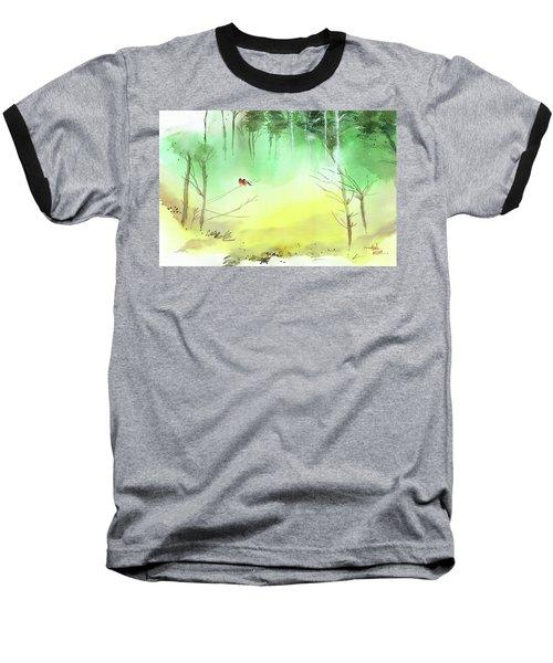 Lovebirds 3 Baseball T-Shirt